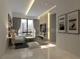 DBSS Modern Scandinavian Concept  A Lake Vista Interior - Modern interior design concept