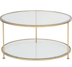 gold leaf coffee table rollo round gold coffee table