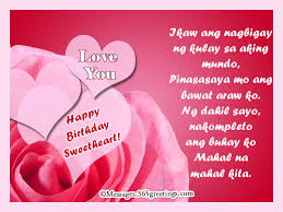 Anniversary Messages For Wife 365greetings Tagalog Birthday Messages For Girlfriend 365greetings Com