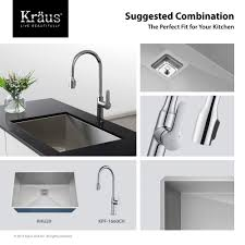 Perfect Kitchen Faucet With Pull by Kitchen Faucet Kraususa Com