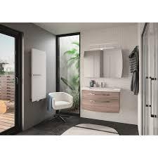 fabriquer meuble salle de bain beton cellulaire meuble de salle de bains de 80 à 99 brun marron image leroy