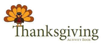 free thanksgiving activity book for parents and families