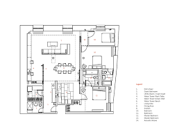 interior design ideas studio modh blends two brooklyn apartments