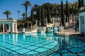 hearst castle pool arquitectura ambientes y urbanismo