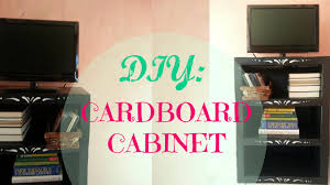 diy cardboard shelf storage organizer sturdy u0026 cheap