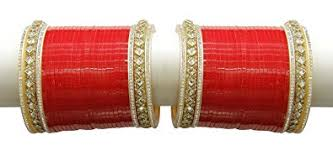 wedding chura online buy muchmore metal crytal bridal chura choora bangle set for