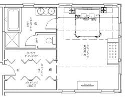 Master Bath Layout Interior Design - Master bathroom design plans