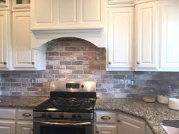 brick backsplash kitchen 40 beautiful brick backsplash tile graphics home decorating ideas