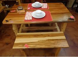 Hickory Table Top Rustic Cabin Furnishings Rcf Llc Home Tables Pubs