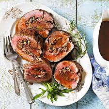 beef tenderloin with parmesan herb stuffing recipe herb
