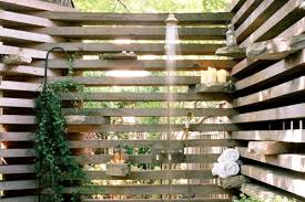 12 refreshing outdoor shower ideas