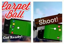 indoor carpet ball table introducing carpet ball new mobile game for iphone and ipad