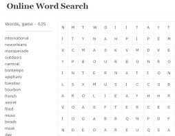 free finders websites 5 free websites to play word search