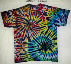 Double Spiral Tie Dye Shirt Double Spiral Tie Dye Shirts Are