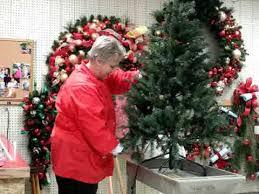 how to wrap lights on a christmas tree youtube