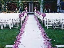 decoration eglise pour mariage 5 décorations de cérémonie romantiques avec un tapis d église