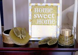 metallic home decor incorporating metallics into your home by the scrap shoppe do