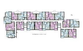 Multi Unit Apartment Floor Plans Apartment Building Design Drawing Home Design Ideas