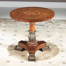 Pedestal Coffee Table Round Orpheus Round Pedestal Coffee Table 635 Coffee Tables