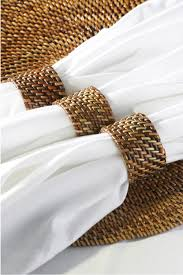 how to set a table with napkin rings a touch of lace