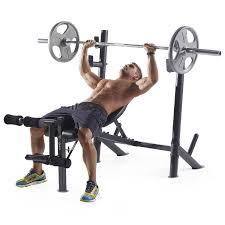amazon com weider pro 345 b mid width weight bench sports