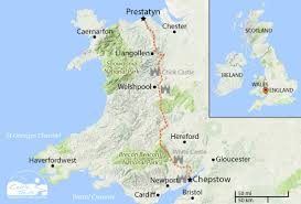 Map Of Wales England by Walking Holidays In Wales Celtic Trails Walking Excellence