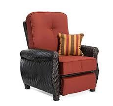 Recliner Patio Chair La Z Boy Outdoor Breckenridge Resin Wicker Patio