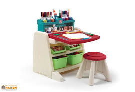 dessin de bureau bureau table à dessin 2 en 1 pour enfant step2