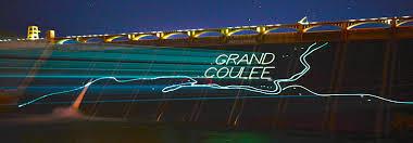 Light Show Visit Grand Coulee Dam Laser Light Show Bureau Of Reclamation