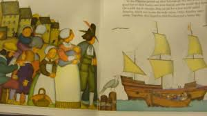 pilgrims book the story of the pilgrims thanksgiving read aloud picture book story