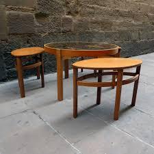 modern round nesting tables round nesting tables leg u2013 modern