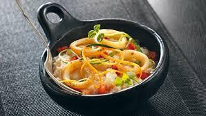 cuisiner des encornets recette risotto d anneaux d encornets parmesan facile pour 4 personnes