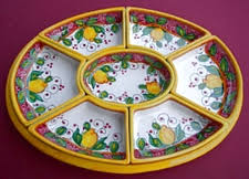 ceramic platter italian ceramic antipasto appetizer plates trays and sets at the