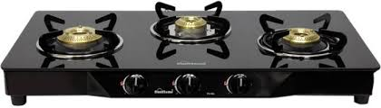 3 Burner Glass Cooktop Sunflame Pearl 3 Burner Glass Top Stainless Steel Glass Manual