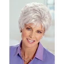 best old lady grey hair wig p4