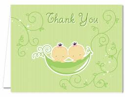 two peas in a pod baby shower baby shower thank you cards two peas in a pod asian thank