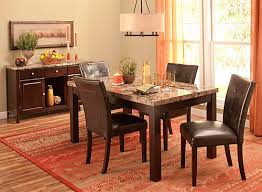 raymour and flanigan dining room sets bedrock 5 pc marble dining set brown raymour flanigan