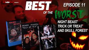 best of the worst night beast trick or treat and skull forest