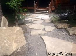 Flagstone Patio Installation Cost by Patio U0026 Walkway Lucas Landscaping U0026 Turf Farm