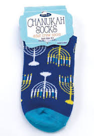 chanukah socks chanukah crew socks menorah design ebay