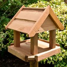 Bird Table L Wood N Garden Timber Fencing Garden Furniture Decking Summer