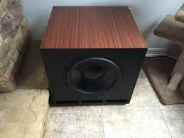 3 subwoofers home theater diy subwoofer youtube