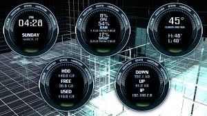 Futuristic Clock X Widget Favourites By Riki59 On Deviantart
