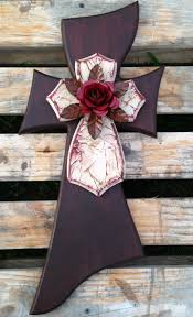 Decorative Wooden Crosses For Wall 473 Best Crosses Images On Pinterest Cross Door Hangers Wooden