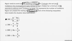 linear inequality word problems u2014 harder example video khan