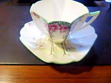 vintage shelley england fine bone china dubarry 13396 cup and