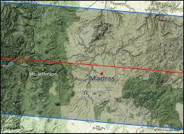 Oregon Google Maps by 2017 Total Solar Eclipse Eclipse At Madras