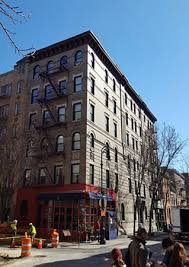 friends apartment building in greenwich village picture of big