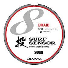 si e v o daiwa pe line uvf surf sensor 8 blade si 200 meters 0 8 no