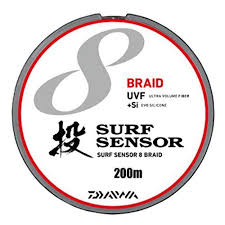 si e v o b daiwa pe line uvf surf sensor 8 blade si 200 meters 0 8 no